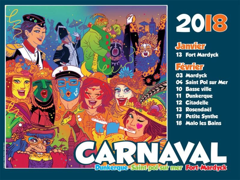 TM6C Carnival of Dunkerque, France Banner