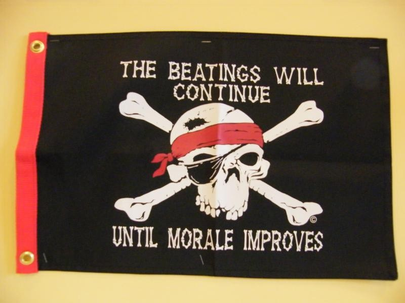Beating will continue until moral improves