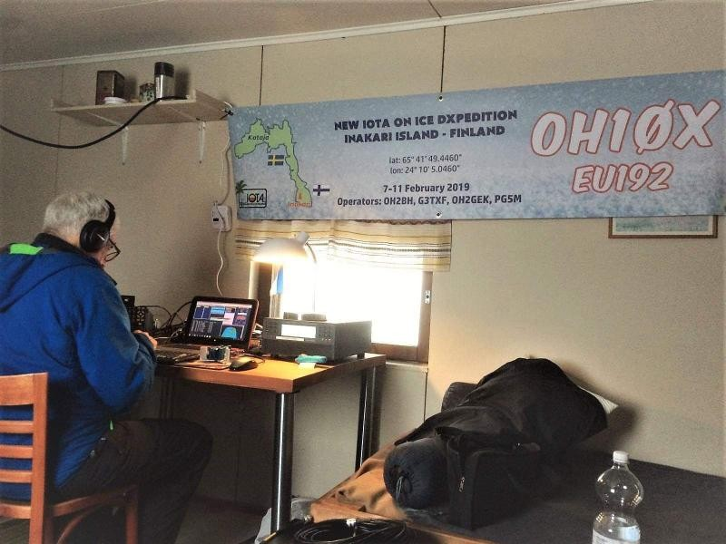 OH10X Inakari Island Image 4 Radio Room Shack