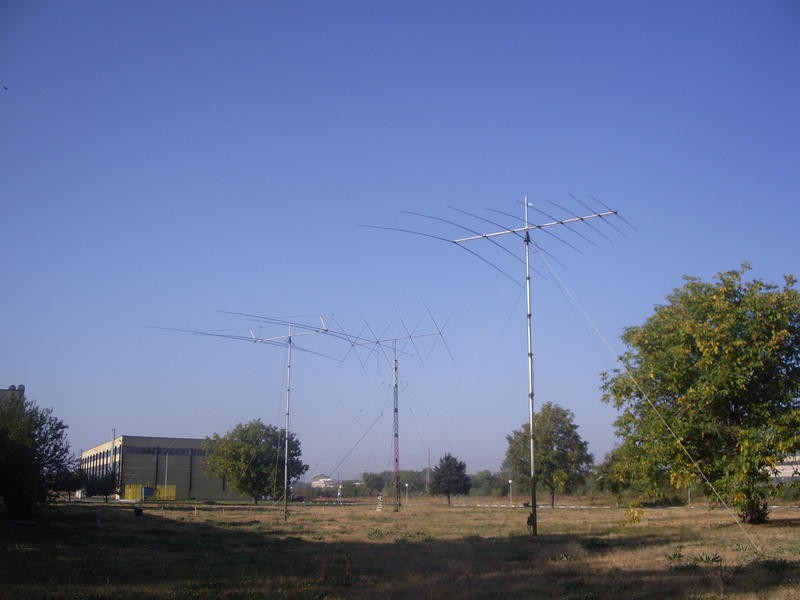 LZ6C Radio Club SILPA Ltd, Lom, Bulgaria. Antennas