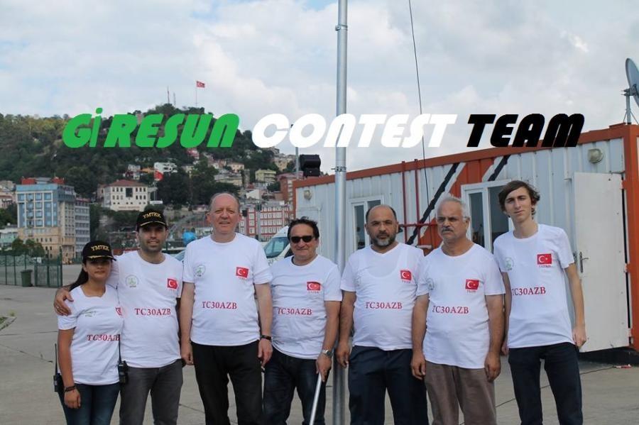TC7G Giresun Contest Team, Giresun, Turkey.
