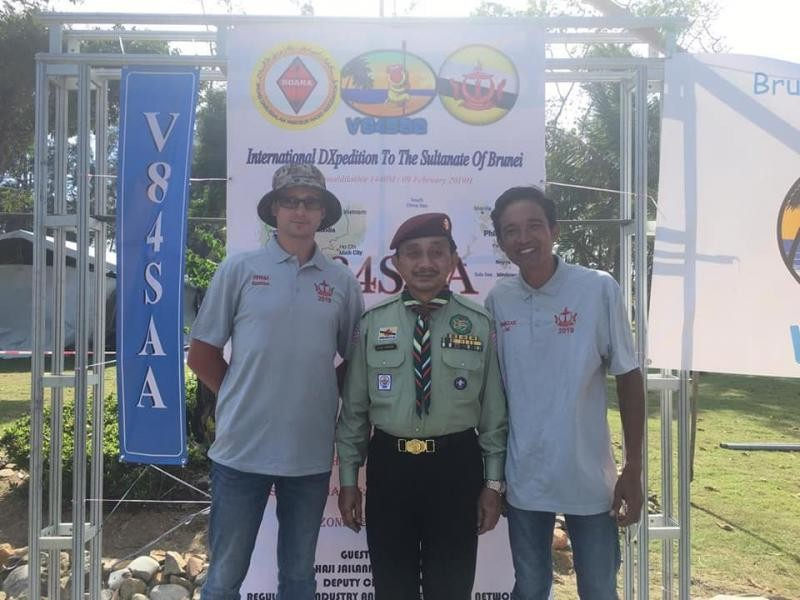 V84SAA Brunei 9 February 2019 Image 4