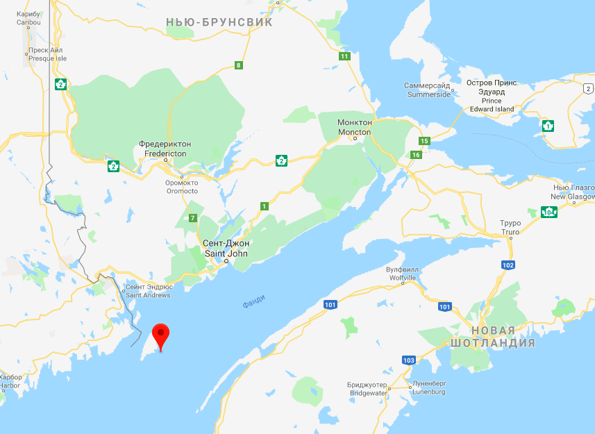 VE7ACN/CK9 White Head Island, Canada