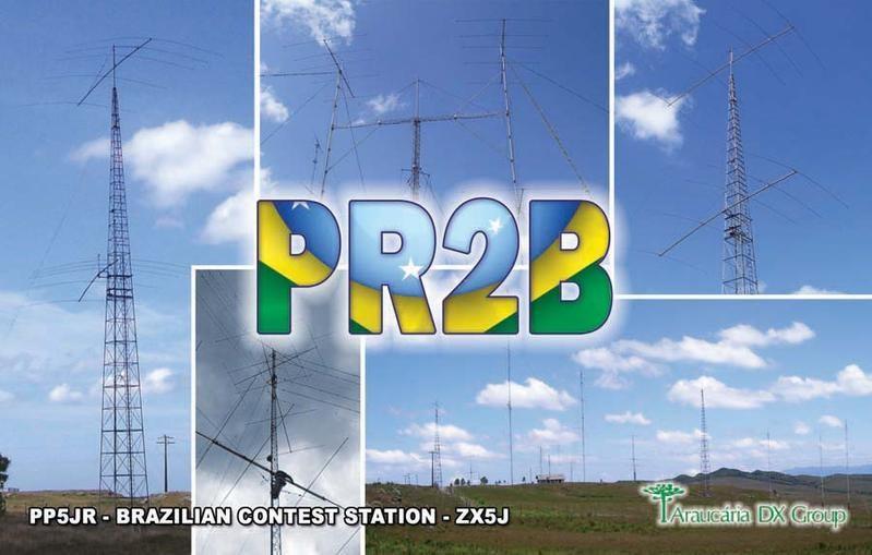 PR2B Fabio Azevedo, Itanhaem, Brazil. Antennas