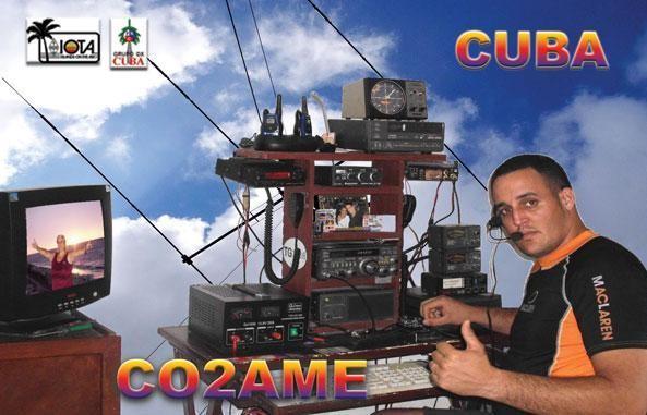 CO2AME Amed Santana Gonzalez, Havana, Cuba