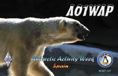 AO1WAP Aviles, Asturias, Spain Antarctic Activity Week