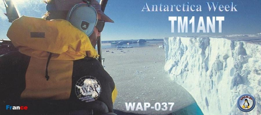 TM1ANT Eric Boglaenko, Oytier Saint Oblas, France. Antarctic Activity Week