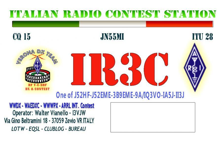 IR3C - Zevio - Italy