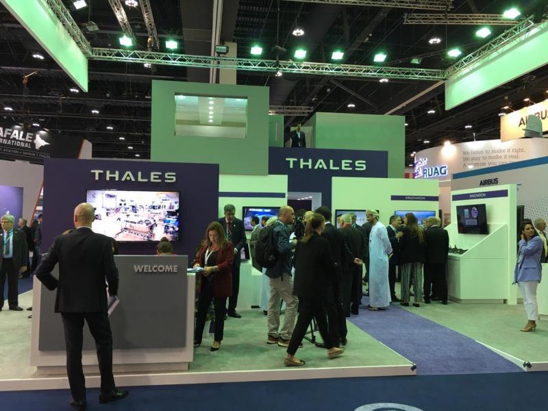 Thales IDEX 2019 Abu Dhabi. UAE