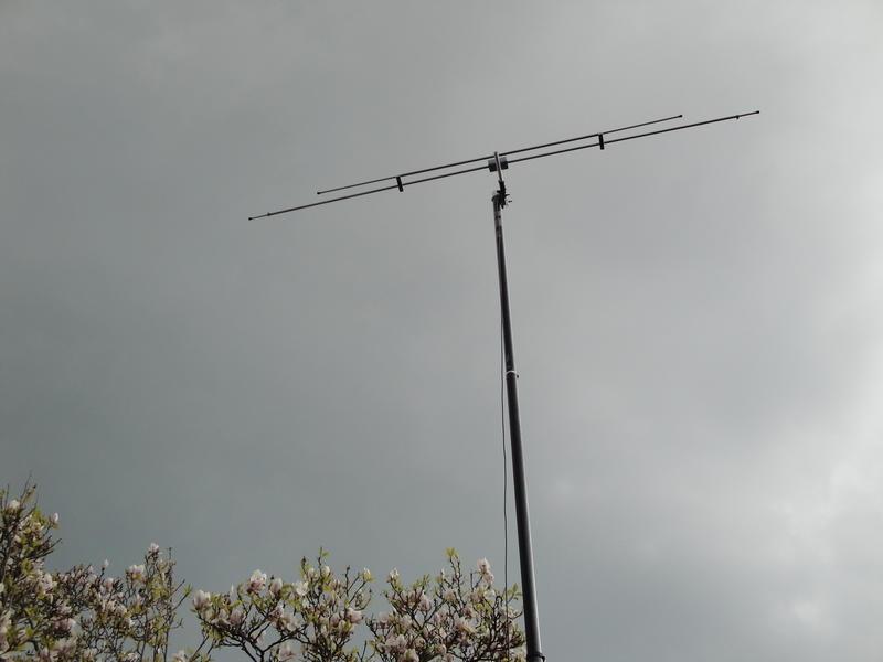 GB75SF Peter Digby, Hayling Island, England Antenna