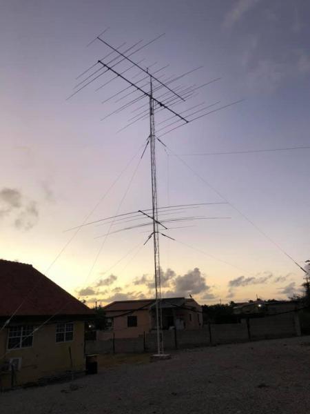 PJ4/IZ4DPV PJ4G Bonaire Island Antennas Image 2