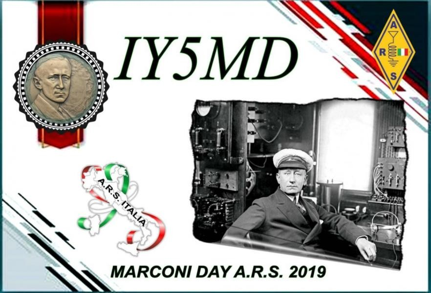IY5MD Marconi Day, Pescia, Italy