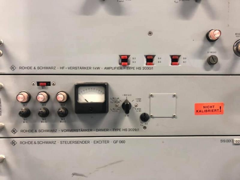 Rohde Schwarz 1 kwt AM Aplifier Image 2