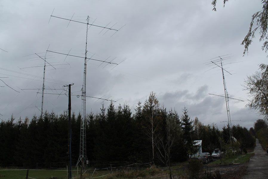 SN8B Albigowa, Poland. Antennas