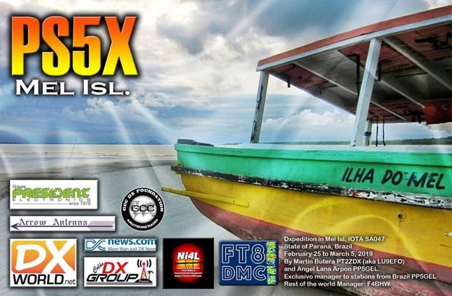 PS5X Mel Island, Brazil