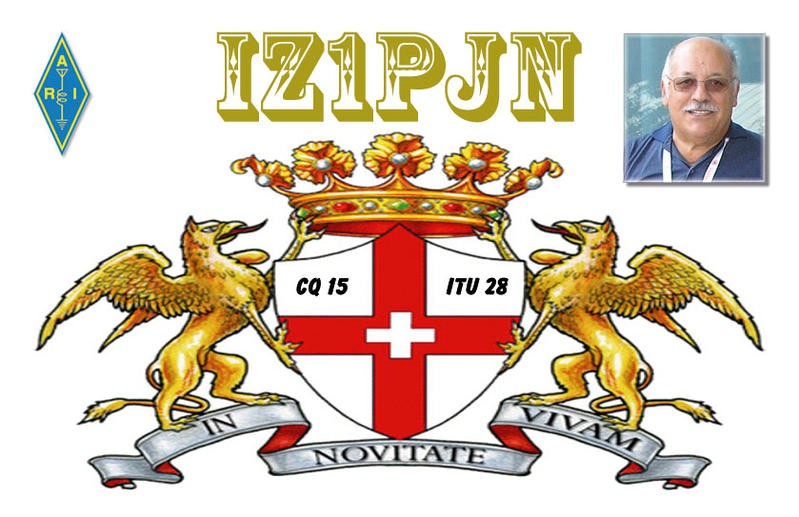 IZ1PJN 1AT153 Franco Tomasetti, Novi Legure, Italy