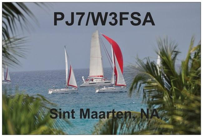 PJ7/W3FSA Mullet Beach, Sint Maarten