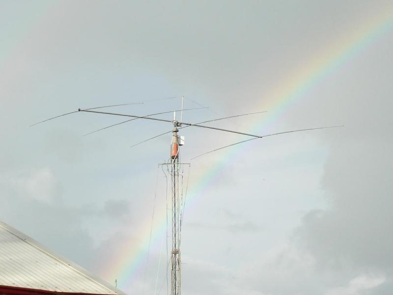 ZM1BBW ZL1M ZM1M Gavin Williams, Whangarei, New Zealand. Antenna