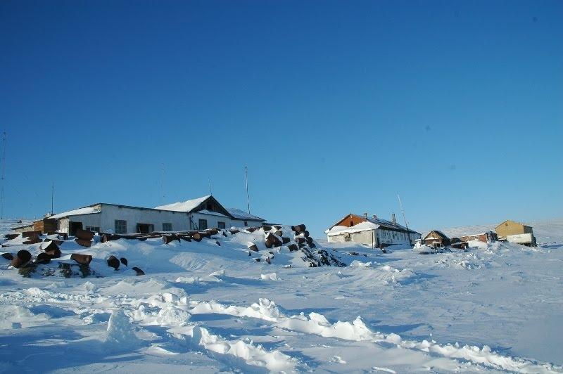 Chetyrekhstolbovoy Island Остров Четырехстолбовой Полярная станция Фото 3 Polar Station