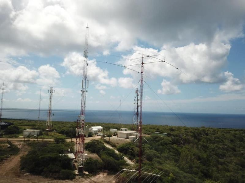 PJ4G Bonaire Island Contest Station 28 February 2019