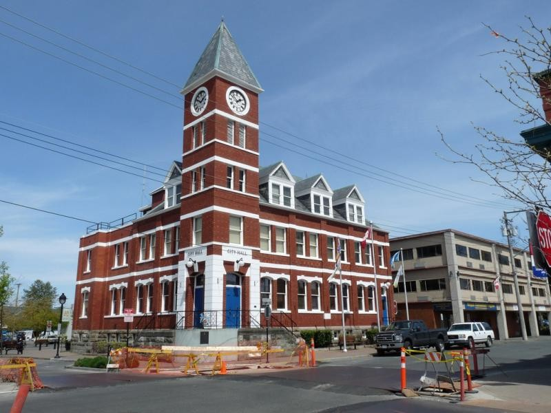 KI4ZWR/VE7 City Hall, Duncan, British Columbia, Canada.