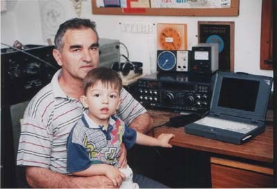 YT1A Vladan Curlic, Kraljevo, Serbia Radio Room Shack