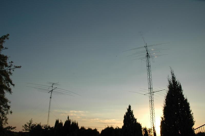 ED7O Linares, Jaen, Spain. Antennas