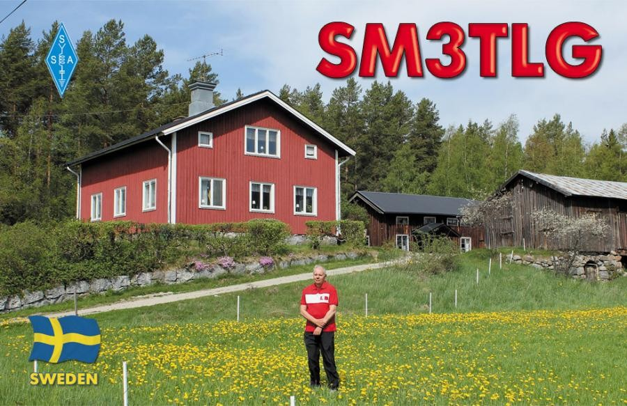 SM3TLG Hans Nilsson, Norrala, Sweden