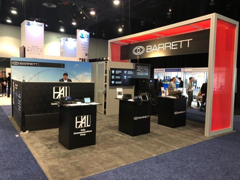 Barrett Communications HAL IWCE 2019 Las Vegas