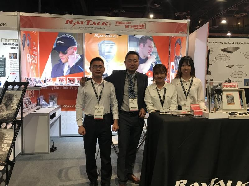 RayTalk Communications Technology IWCE 2019 Las Vegas
