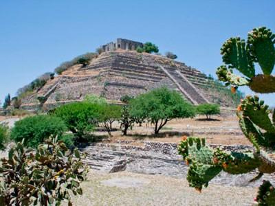 6E0P Pyramids, Queretaro, Mexico