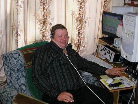 R100WD Alexey Sherbakov, Davlekanovo, Bashkortostan, Russia. Radio Room Shack.