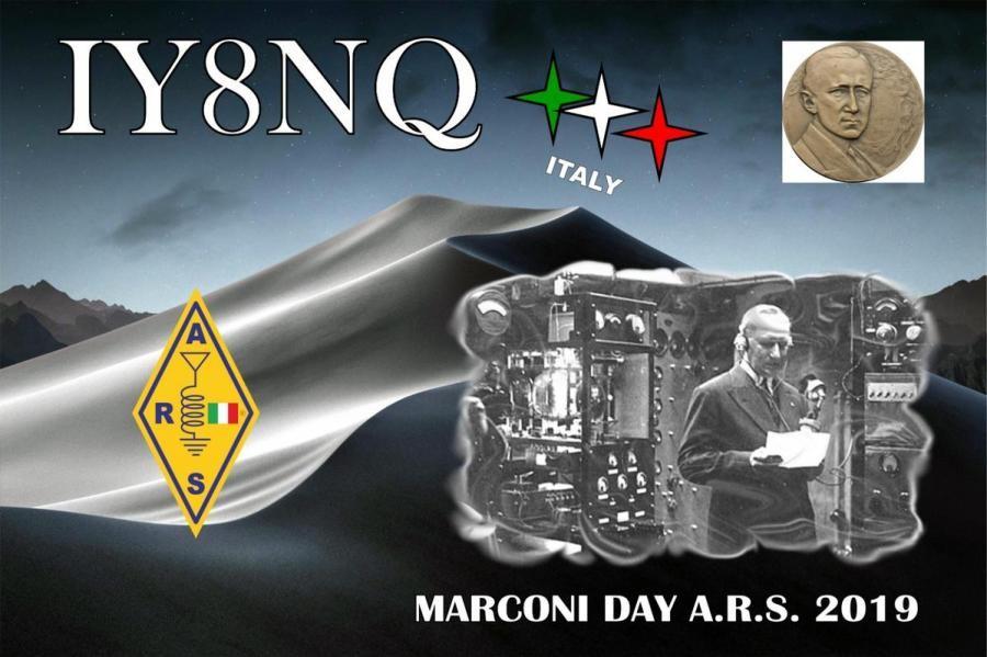 IY8NQ Marconi Day, Locri, Italy