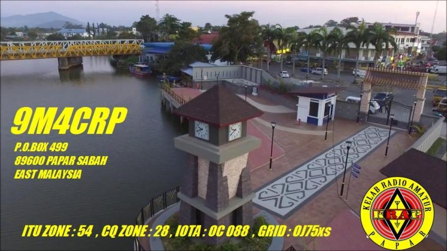 9M4CRP Kelab Amatur, Papar, Sabah, Malaysia.