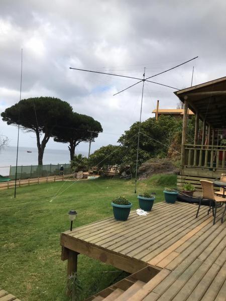 XR0ZRC Robinson Crusoe Island. Antennas
