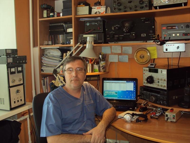 UA0CID Oleg Oleynikov, Komsomolsk on Amur, Russia