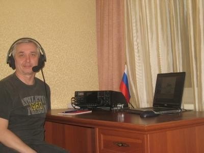 UA9LAO Eugen Lyzhin, Tyumen, Russia