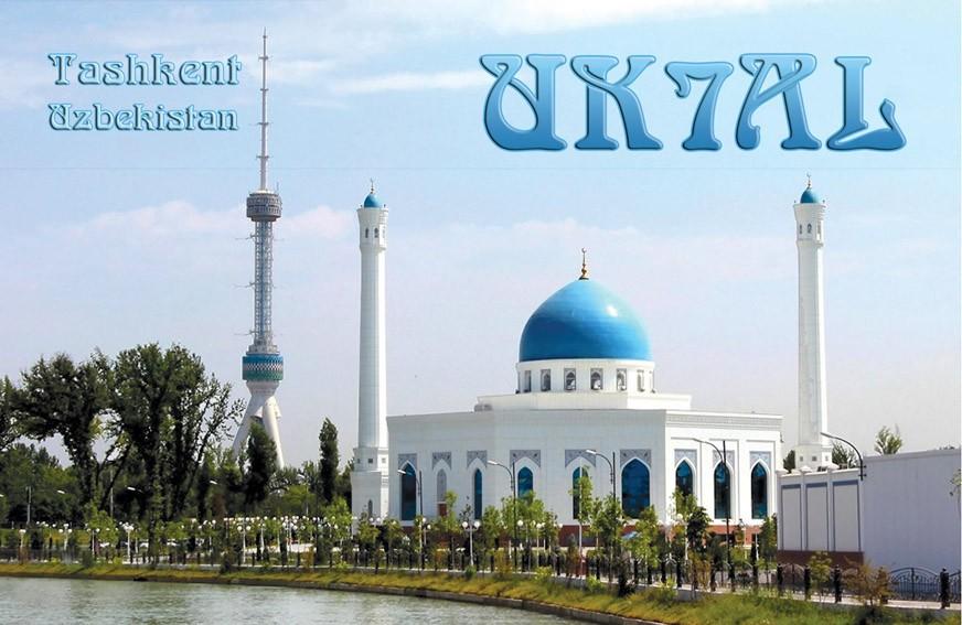 UK7AL Madjit Kadirov, Tashkent, Uzbekistan.