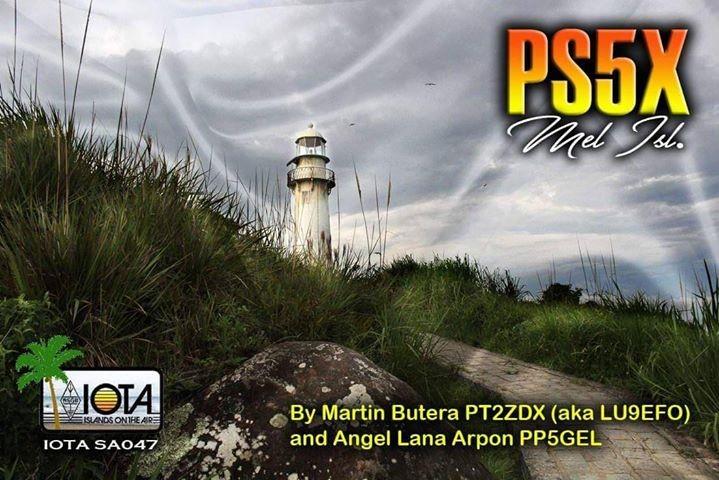 PS5X Mel Island QSL Card Image 1