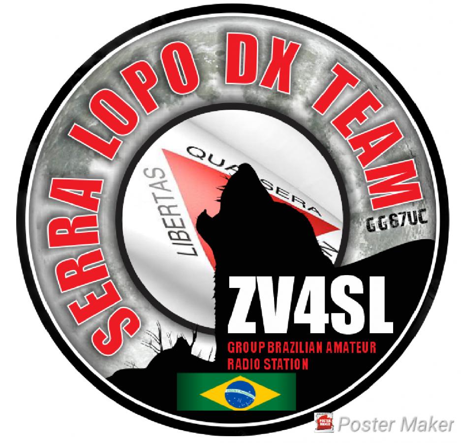 ZV4SL Serra do Lopo DX Team, Serra do Lopo, Brazil