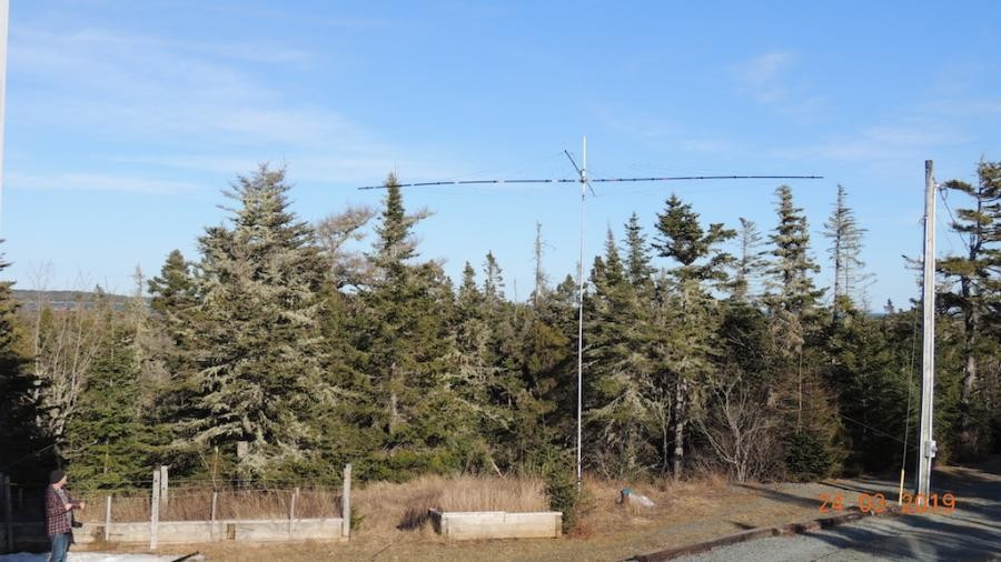 VE7ACN/VE1 Bell Island Antenna Image 1