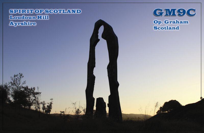 GM9C Graham Cochrane, Galston, Scotland