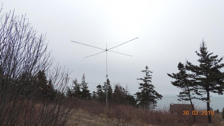 VA7XW/VE1 Long Island Antenna 30 March 2019
