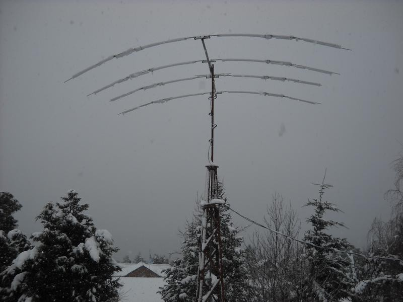 LV4V Andres Juan Adler, Bariloche, Argentina. Antenna