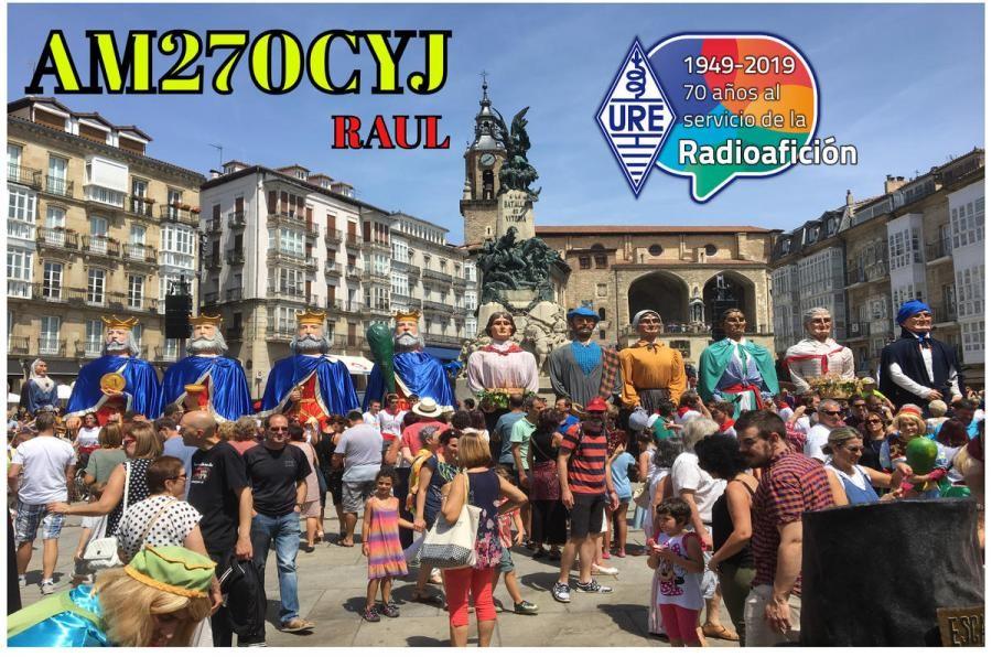 AM270CYJ Raul Calleja, Vitoria Gasteiz, Spain