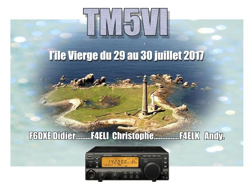 TM5VI Vierge Island RSGB IOTA Contest