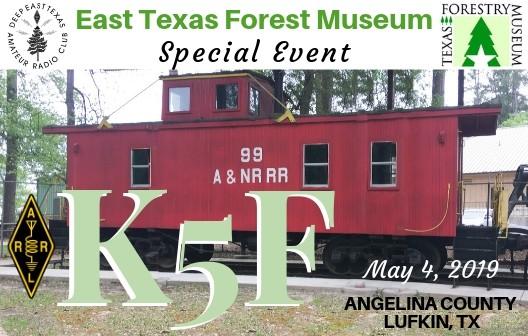 K5F Texas Forest Museum, Lufkin, Texas, USA