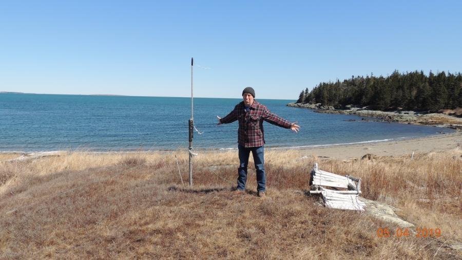VE7ACN/CK9 White Head Island Antenna