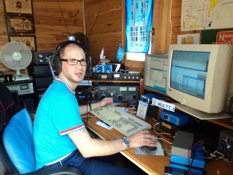 AM570BWR Txema Macias Machio, Torrevieja, Alicante, Spain Radio Room Shack