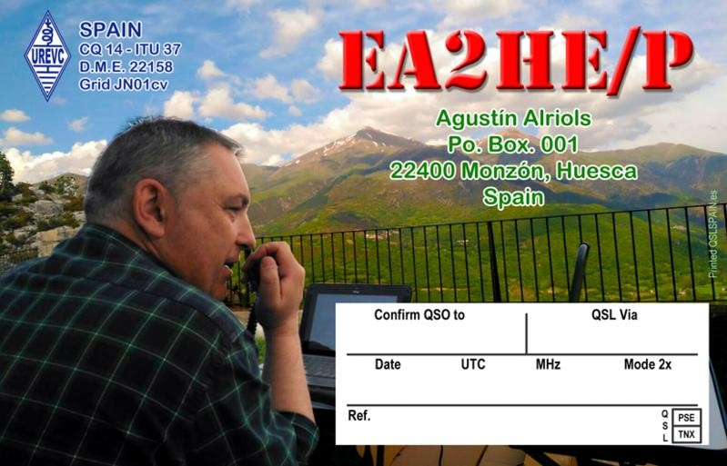 AM270HE Agustin Alriols, Monzon, Huesca, Spain